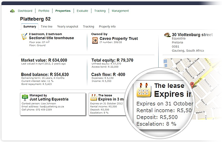 Rental tracking so you can maximize your cash flow and stay in control